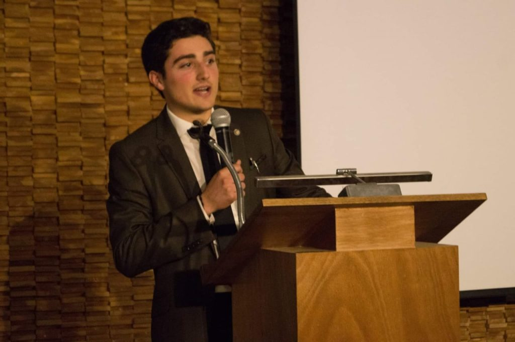 Diego Trevió en Juan Diego Network