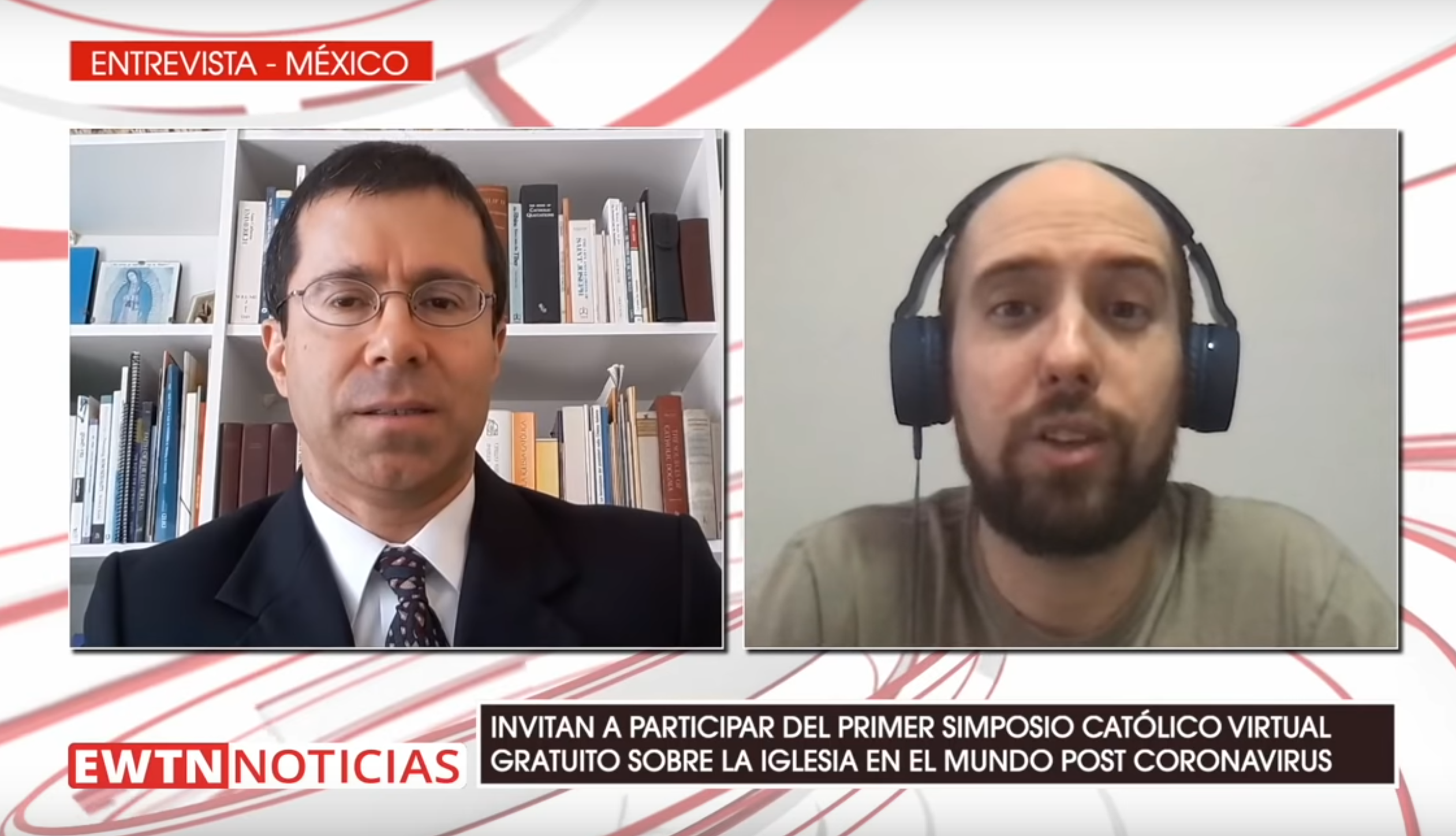 SImposio Católico Virtual in EWTN Noticias