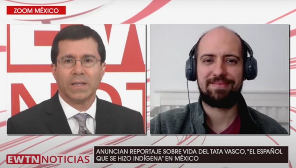 EWTN Noticias Tata Vasco podcast de Juan Diego Network