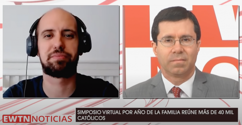 EWTN Noticias Juan Diego Network Simposio Católico Virtual Iglesia Doméstica