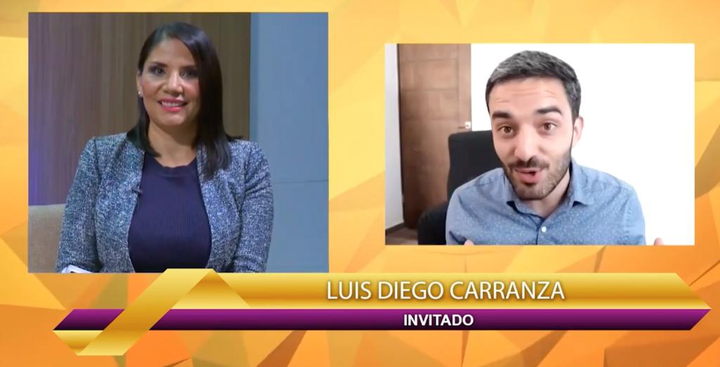 Luis Diego Carranza en ESNE TV JUan DIego Network